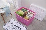 Casella di memoria domestica accatastabile per la verdura/la frutta/il riso con la maniglia