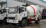 Sinotruk 6 바퀴 구체 믹서 트럭 3 M3 드럼 롤러 트럭