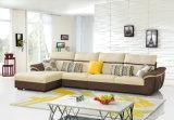 Sofà moderno dell'angolo del tessuto della mobilia del salone