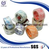 Fita impermeável da embalagem do cristal BOPP da força de alta elasticidade