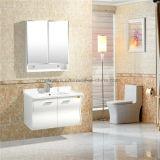 Einzelner keramischer Bassin PVC-Badezimmer-Schrank