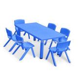 Les enfants de maternelle Bureau et chaise Design fleur (SF-24K)