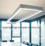 알루미늄 LED 펀던트 선형 가벼운 단면도