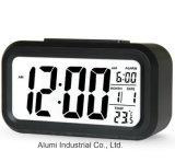 Grande sveglia della visualizzazione di LED di Digitahi con l'orologio della Tabella dello scrittorio di temperatura