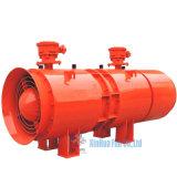 De industriële Ventilators die van de Tunnel de Bouw van de Mijnbouw koelen