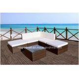 Meubles en osier de jardin de sofa de meubles extérieurs L-Modernes