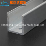 La cloison de séparation en verre en aluminium de bâti et d'obturateur a expulsé des profils en aluminium