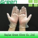 Устранимые перчатки винила (ISO, аттестованный CE)