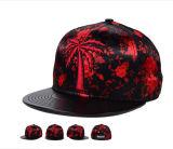 黒い革縁6のパネル平らなビルは急な回復の帽子の帽子を遊ばす