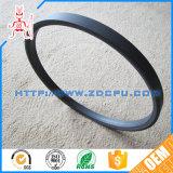 Do preto resistente da coluna do tempo gaxeta de nylon personalizada/gaxeta do Peek para a flange da tubulação