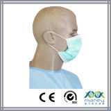 Masque protecteur non-tissé chirurgical remplaçable avec la conformité de la CE (MN-8013)
