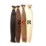 薄い色の倍によって引かれるインドの毛の小さい先端の人間の毛髪の拡張