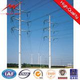 Equipo de acero galvanizado Q345 postes de la distribución de potencia