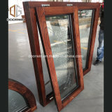 Fijo arco transversal con toldo de cristal tallado de la ventana