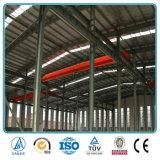 Estructura de acero de la luz de almacén con grúa de 10 Ton.