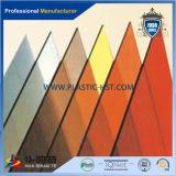 Folha de sólidos em relevo impermeável, /folha sólida de policarbonato