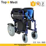 Equipo de Hospital plegable plegable potencia discapacitados Silla de ruedas eléctrica