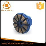 Segment-Stecker-Systems-konkreter Metalldiamant-reibender Stecker