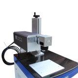 máquina de marcação a laser UV para a marca preta de plástico