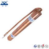 Rame rosso puro dell'elettrodo elettrolitico per la messa a terra del progetto a massa