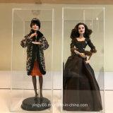 Migliore visualizzazione acrilica di vendita per le bambole