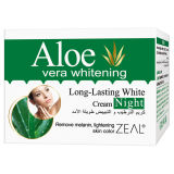 Zeal Skin Care Aloe Vera White Night Crème pour le visage 50ml
