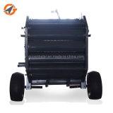 Prensa redonda do feno do fornecedor de China máquina de empacotamento da mini para a venda