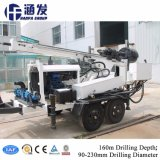 Hf150t equipo de perforación pozo de agua portátil