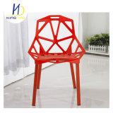 Подлокотник пластмассовые опоры спинки металлические штыри обеденный стул