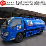 판매를 위한 Forland Foton 4000L 스테인리스 탱크 우유 유조 트럭