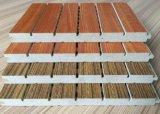 Écran antibruit perforé en bois de qualité