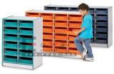 Los niños coloridos muebles niños Gabinete de madera para el almacenamiento