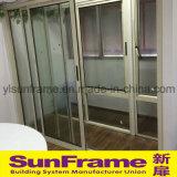 Perfil de aluminio para puertas corredizas para balcón y populares en Israel