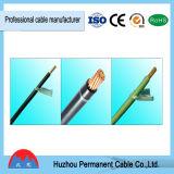 fio de cobre elétrico do fio de 600V Thhn e retirado o núcleo