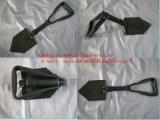 Bêche portative militaire se pliante en acier de pelle à jardin de pelle (S522)