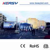 높은 Brgihtness P4.8 옥외 풀 컬러 임대 발광 다이오드 표시