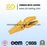 Estrazione mineraria del dente della benna & lavorare dei pezzi meccanici di ingegneria