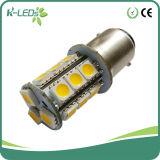 1141 C.C 18SMD de la baïonnette DEL 10-30V imperméabilisent l'ampoule 1156 de DEL