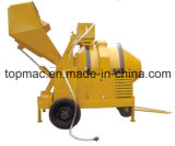 Reverse diesel Drum Mixer con Hydraulic Fed