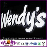 LED of modules Backlit Channel type character for shop Sign