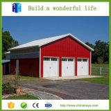 Prefabricated 강철 구조물 준비되어 있는 작업장 집