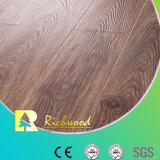 12.3mm E0 HDF AC4 geprägter Ulme-U-Grooved lamellenförmig angeordneter Fußboden