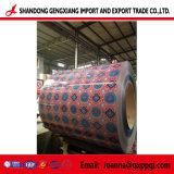 색깔 Coated Corrugated Steel Coil PPGI/Color Coated Coil 또는 Color Coated