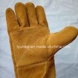 Разрежьте устойчивые перчатки рабочие перчатки из натуральной кожи