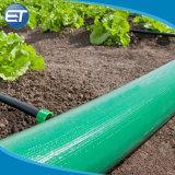 4 bar de PVC azul echar agua plana la manguera o tubo de descarga.