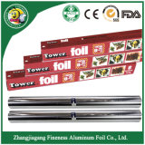 Papier de papier d'aluminium avec le prix usine/le roulis papier d'aluminium