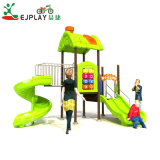 2018 pré-escolares o parque de diversões infantil exterior, parque infantil exterior de equipamento desliza