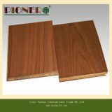 Flowers Grain를 가진 18mm Teak Wood Material Plywood