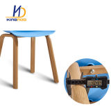 Heno réplica sobre una silla de comedor silla de plástico de la Pierna de metal