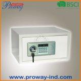 Cofre forte eletrônico pequeno do hotel com indicador do LCD